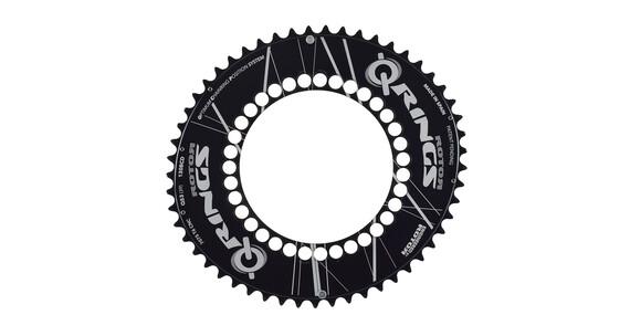Rotor Q-Ring 130 BCD Aero Kettenblatt 53 Zähne außen schwarz
